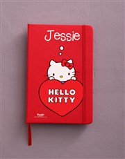 Personalised Red Hello Kitty Stationery Set