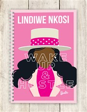 Personalised Wake Up Barbie Notebook