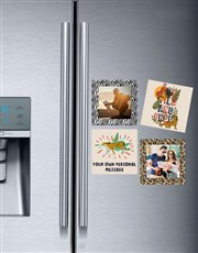 Wild Thing Fridge Magnet Set