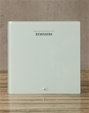 Minimalist Glass Reminder Whiteboard