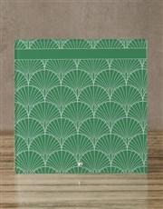 Green Glass Reminder Whiteboard