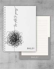 Personalised Path To Success Notebook