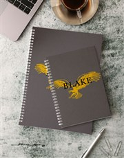 Personalised Eagle Notebook