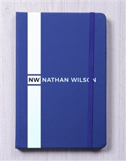 Personalised Sporty Hardcover Journal