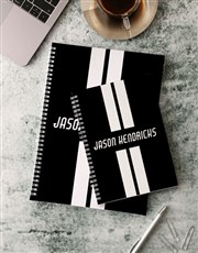 Personalised On The Road Notebook