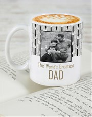 Personalised Worlds Greatest Dad Mug