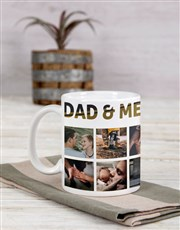 Personalised Dad and Me Mug