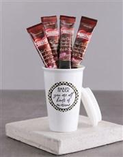 Personalised You Are Awesome Ceramic Travel Mug