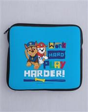 Personalised Work Is Play Kids Tablet Cover