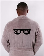 Personalised Cool Dad Brown Gown