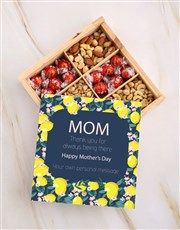 Personalised Mothers Day Nut Crate