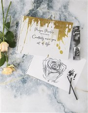 Personalised Creativity Style Sketch Book
