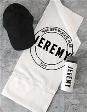 Personalised Logo Gym Towel Set