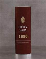 Personalised Johnnie Walker Whisky Classic Tube