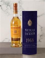 Personalised Glenmorangie Whisky Classic Tube