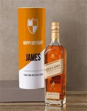 Personalised Johnnie Walker Whisky Modern Tube