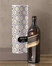 Personalised Johnnie Walker Whisky Tube