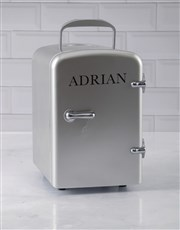 Personalised Silver Desk Fridge