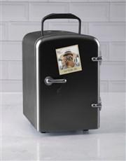Personalised Polaroid Black Desk Fridge