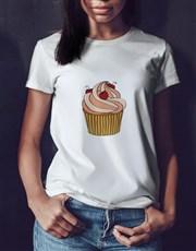 Personalised Birthday Cupcake T Shirt Tin