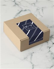 Personalised Navy Stripe Apparel Box