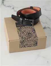 Personalised Brown Paisley Apparel Box