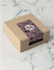 Personalised Black Floral Apparel Box