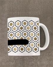Personalised Honeycomb Diary Set