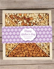 Make it a special Mother's Day with this wooden tr