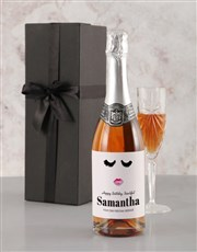 Personalised Glamour Birthday Rietvallei Wine