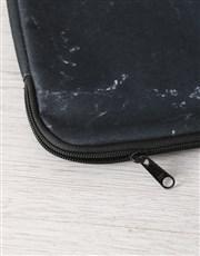 Personalised Marbleised Laptop Sleeve
