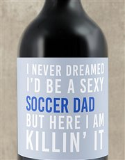 Spoil that sexy soccer dad with a bottle of red wi