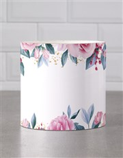 Personalised Rose Garden Mug Tube
