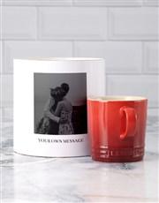 Personalised Photo Le Creuset Mug Tube