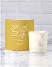 Personalised Good Things Le Creuset Mug Tube