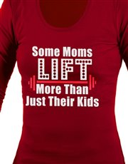 Let mom show off her lifting skills in style with