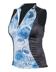 Ladies Flora Sleeveless Cycling Shirt