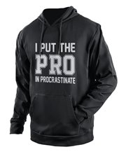 Spoil that procrastinator with this stylish black