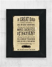 Great dads certainly deserve to be treasured, so d