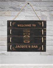 Spoil him with this welcome addition to any bar or