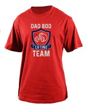 Let your dad flaunt that dad bod with this cool T-