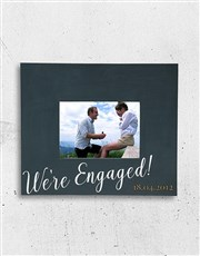 Keep those engagement memories alive with this lov