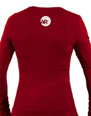 Help her build her empire with this red longsleeve