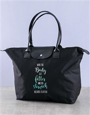 Personalised Flatter Stomach Fashion Gym Bag