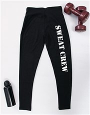 Personalised Sweat Crew Gym Leggings