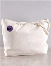 Personalised Yoga Poses Bag Hamper