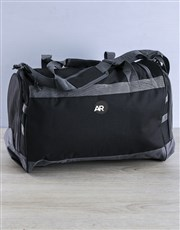 Personalised The Gym Is A Good Place Gym Bag Kit