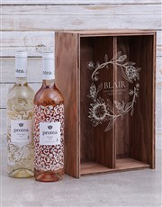 Personalised Protea Duo Crate