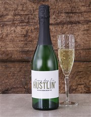Spoil that hustler with this bottle of bubbly whic