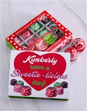Make it a sweetie-licious day with this tray of 16